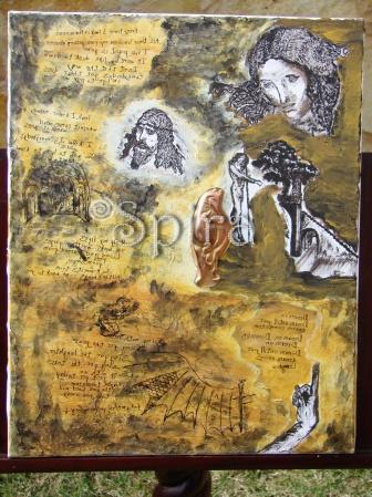 """ Leonardo's Dream…"" 49 x 39,5 cm"
