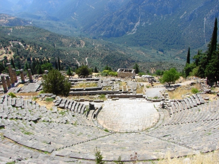 Theater and Temple of Appolo